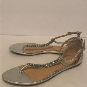 Badgley Mischka Jewel Jeweled Sandals (9)